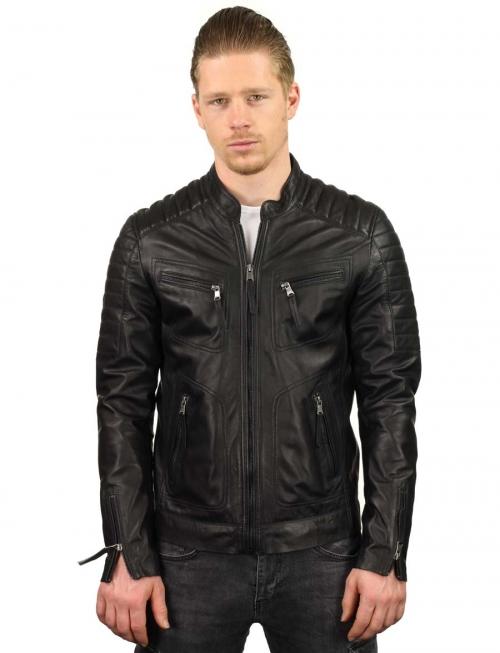 leren-jassen-heren-zwart-biker-model-TR36B-versano