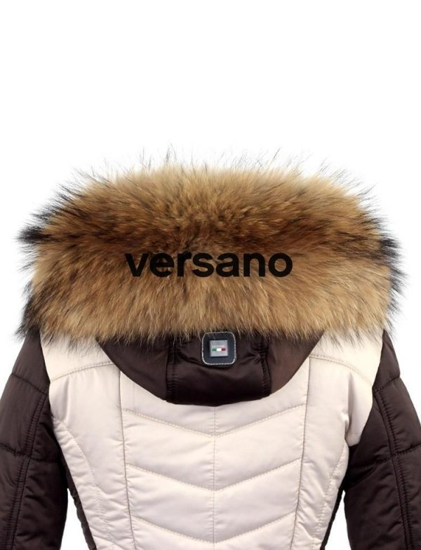 echte bontkraag naturel XL Versano