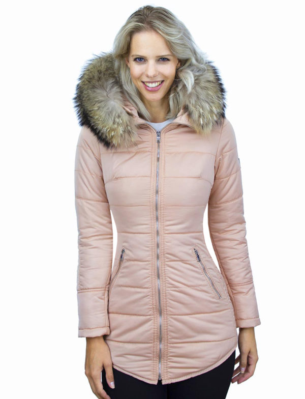 dames-winterjas-zalmroze-halflang-model-