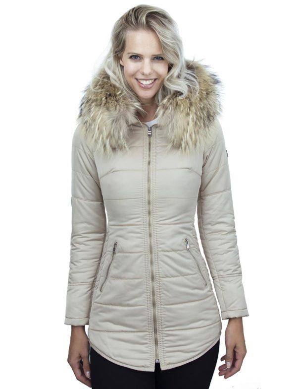 dames-winterjas-beige-halflang-model-zilveren-rits-versano