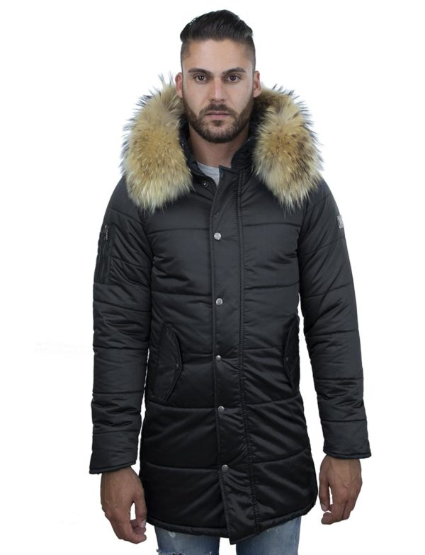 heren-winterjas-halflang-model-zwart-versano-robert